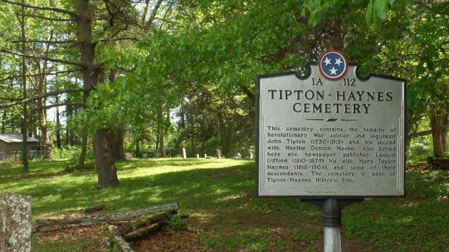 Tipton Haynes Cemetery