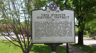 Tree Streets Historic District