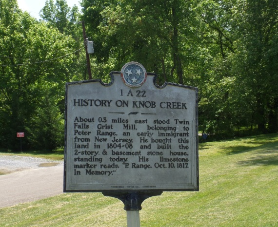 History on Knob Creek