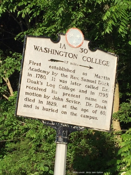 Washington College - w credit