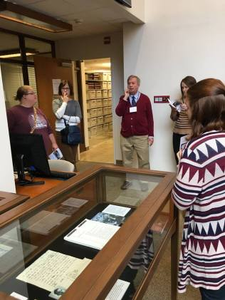 Touring the Washington County Archives