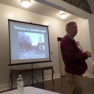 Ned Irwin, Washington County Archivist