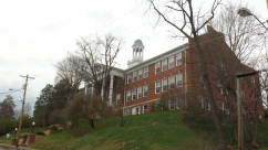 Academy Hill. In 1852, the Jonesborough Lodge of the Independent Order of Odd Fellows owned the property and operated a female high school and college on this site. This building was the Jonesborough High School from 1926 through 1971. It is now condominiums.