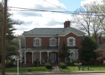 """The Brownlow House was built in 1879 by Walter P. Brownlow, who owned the Jonesborough """"Herald and Tribune"""". He was a postmaster and was elected U. S. Congressman in 1897."""
