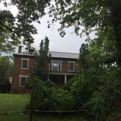The Byrd Brown House is located in the Lamar community. The home was built in 1839. Byrd Brown was the grandson of Jacob Brown, Sr., one of the earliest settlers on the Nolichucky River.
