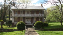 The Samuel B. Cunningham residence, located on the south side of West Main, was built circa 1840.