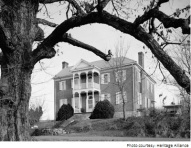 The DeVault Tavern, built in 1821 on the Great Stage Road, located on Stout Drive in Jonesborough.