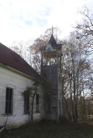 Douglas Shed Church, near Gray
