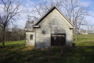 Douglas Shed School, near Gray was in operation by the mid 1870's. It was later known as Evening Star School and was closed in 1932. (building no longer on the site)