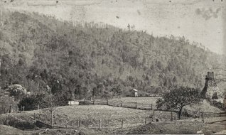 Embreeville area in Washington County, note the Iron Furnace on the right.