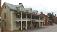 The Eureka Inn, built before 1821 by Robert Mitchell.