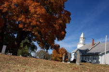 Fairview United Methodist Church and Cemetery, near Jonesborough