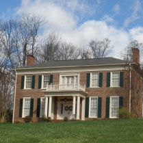 Febuary Hill was built in 1832 by John Blair, congressman. It gets its name from Dr. W. S. Febuary, not the month of February.