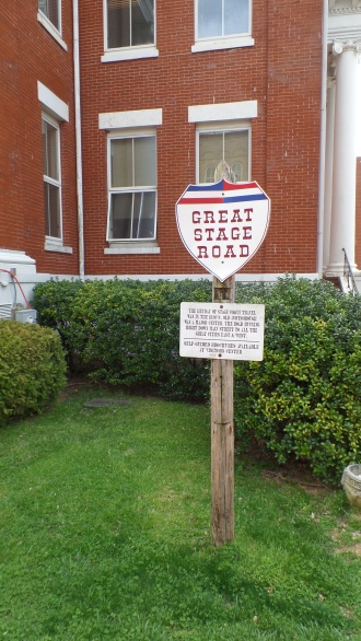 Jonesborough was a major stop on the Great Stage Road, which ran between Washington, D. C. and Memphis.