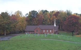 Hales Chapel Church and Cemetery, Gray