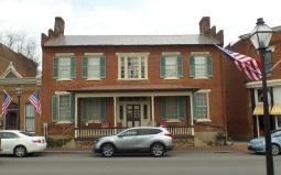 Jacob Naff purchased this lot in 1836 and built this house located on Main Street.