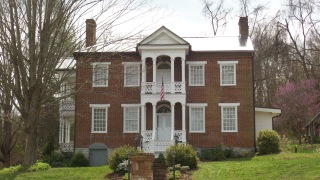 The John Green house, built in 1825