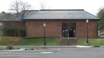 The Washington County Public Library, located on Sabin Drive in Jonesborough.