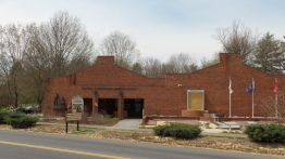 The Jonesborough Visitors Center, located on Boone Street.