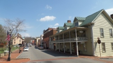 Main Street, looking east toward the courthouse