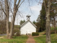 The Oak Hill School was built in 1886 in the Knob Creek community. It was moved to Jonesborough and now sits behind the Heritage Alliance and the Visitors Center.