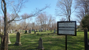 "The old Jonesborough Cemetery, also known as ""Rocky Hill."""