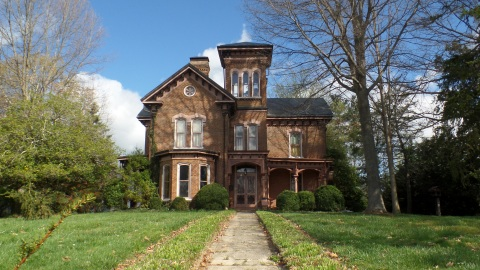 The Reeves - Hankin house on College Street was built in 1877 by James H. Dosser.