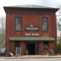 The Salt House was built in 1840 by businessman William Crouch. It was first used as a general store and wholesale grocery warehouse until the Civil War when it was used for storing salt.