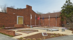 Veterans Memorial at the Jonesborough Visitors Center