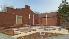 Veterans Memorial at the Jonesborough Visitors Center