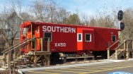 Caboose - South 2nd Avenue, Jonesborough
