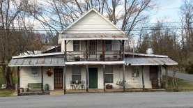 Harmony Grocery was built in 1909 by J. H. Cox and Monroe Fulkerson for 50 cents a day wages.