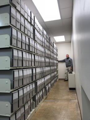 The staff and volunteers have now completed processing the Chancery Court Case Files --all 5476 of them!