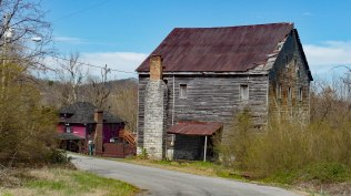 Bashor Mill on Knob Creek was built in the 1830's and was in operation until the 1950's.