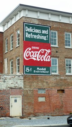 Coca-Cola (recently repainted), Johnson City