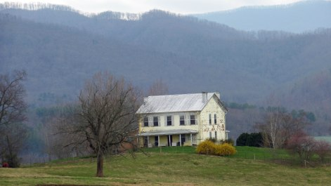 Edward West house, located near the Nolichucky River.
