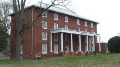 The Girls Dormitory at Washington College Academy was built in 1842, remodeled in 1962 and is now known as Harris Hall.
