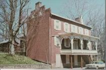 John W. Simpson house - Postcard, date unknown.