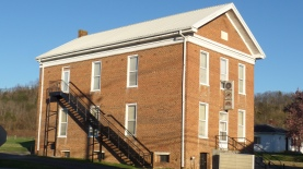 The Johnson Lodge, No. 274, F. & A.M. was organized in 1858. This building was completed in 1869 and the Lodge is still active.
