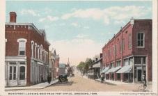 Jonesborough looking west. Postcard undated.