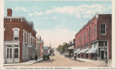Jonesborough looking west. Postcard undated.