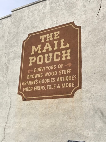 The Mail Pouch (a side view, more modern painting), Jonesborough