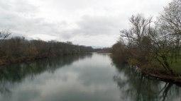 Nolichucky River, photo taken from the Jackson Bridge.