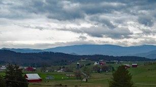 Farmland in the Washington College area of the county