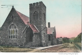 The St. John Episcopal Church was founded in 1905 and is the only Episcopal Church in Johnson City.