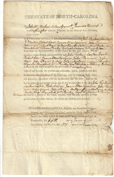 1787Justices of the Peace -