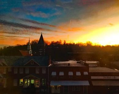 Sunrise over Jonesborough, February 13, 2019