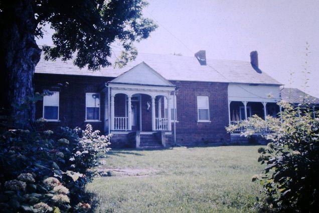 Allison - Masters house, Tavern Hill Road, Jonesborough