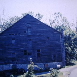 Bashor Mill, Knob Creek