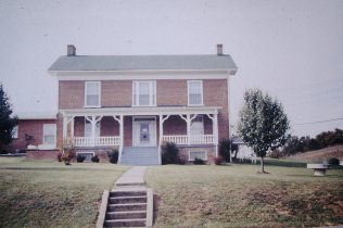 Fleenor house, Old Gray Station Road and Old Stage Road, Gray